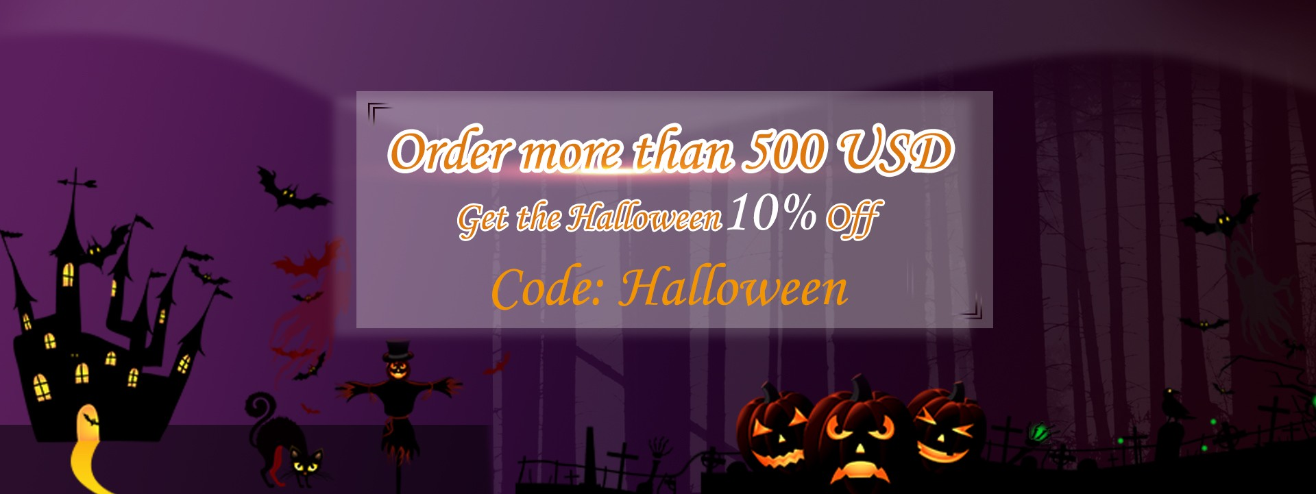 Halloween Big Promotion